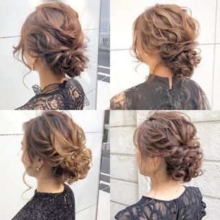 結婚式 ナチュラル 簡単ヘアアレンジ ヘアアレンジ ヘアスタイルや髪型の写真・画像 ヘアスタイルや髪型の写真・画像