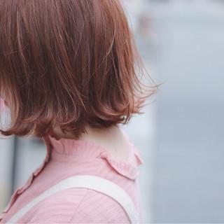 切りっぱなし ナチュラル イルミナカラー オルチャン ヘアスタイルや髪型の写真・画像