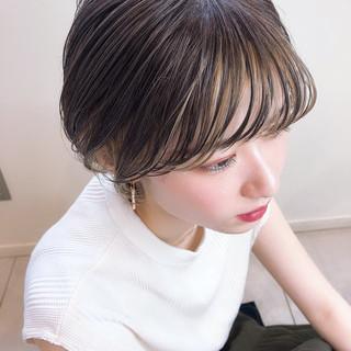 アンニュイほつれヘア 外国人風カラー ハイライト インナーカラー ヘアスタイルや髪型の写真・画像