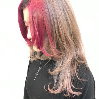 ウルフ女子 ネオウルフ ニュアンスウルフ ウルフカット ヘアスタイルや髪型の写真・画像