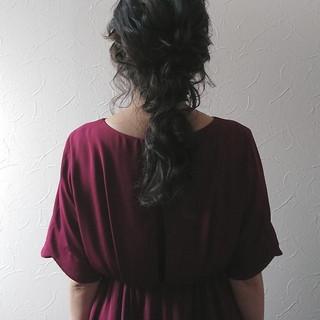 大人かわいい フェミニン 愛され ヘアアレンジ ヘアスタイルや髪型の写真・画像