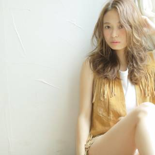 フェミニン ゆるふわ ストリート モテ髪 ヘアスタイルや髪型の写真・画像