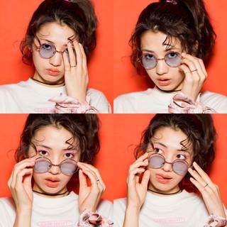 ポニーテール ショート ミディアム ヘアアレンジ ヘアスタイルや髪型の写真・画像 ヘアスタイルや髪型の写真・画像