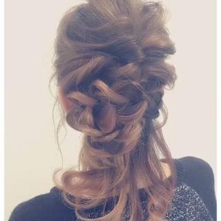 簡単ヘアアレンジ ヘアアレンジ ゆるふわ ルーズ ヘアスタイルや髪型の写真・画像 ヘアスタイルや髪型の写真・画像