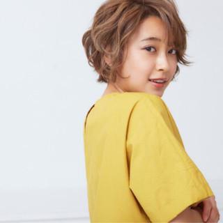 野口友美さんのヘアスナップ