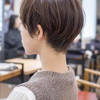 ショートボブ ショートヘア ショート ショートカット ヘアスタイルや髪型の写真・画像