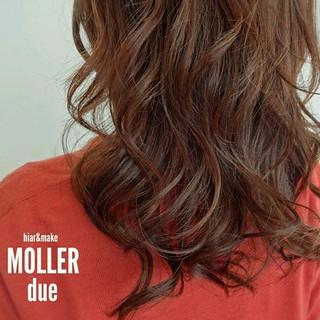 ロング ハイライト グラデーションカラー 大人かわいい ヘアスタイルや髪型の写真・画像