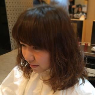 モテ髪 セミロング コンサバ 愛され ヘアスタイルや髪型の写真・画像 ヘアスタイルや髪型の写真・画像