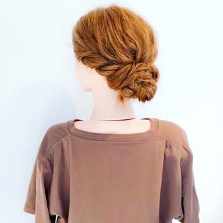 大人かわいい フェミニン ヘアアレンジ オフィス ヘアスタイルや髪型の写真・画像