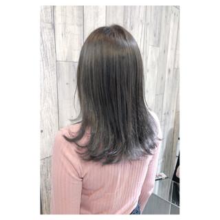 大人女子 フェミニン グレージュ 大人かわいい ヘアスタイルや髪型の写真・画像