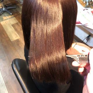 美髪 髪質改善 髪質改善トリートメント 髪質改善カラー ヘアスタイルや髪型の写真・画像