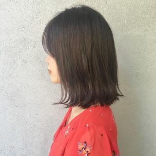 大人女子 ナチュラル 小顔 ボブ ヘアスタイルや髪型の写真・画像