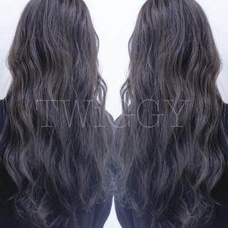 グラデーションカラー ストリート ブリーチ ダブルカラー ヘアスタイルや髪型の写真・画像