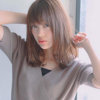 ミディアム アンニュイほつれヘア 簡単ヘアアレンジ 大人かわいい ヘアスタイルや髪型の写真・画像