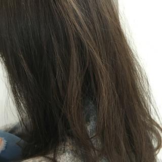 アッシュ ナチュラル グラデーションカラー 大人かわいい ヘアスタイルや髪型の写真・画像