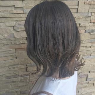 ハイライト ボブ ナチュラル 外国人風 ヘアスタイルや髪型の写真・画像 ヘアスタイルや髪型の写真・画像
