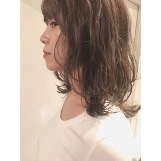 色気 外ハネ マッシュ モード ヘアスタイルや髪型の写真・画像
