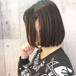 ボブ オフィス 大人女子 イルミナカラー ヘアスタイルや髪型の写真・画像 ヘアスタイルや髪型の写真・画像