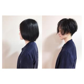ショート ナチュラル 坊主 レディース ヘアスタイルや髪型の写真・画像