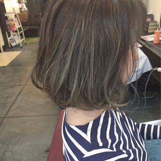 ナチュラル 黒髪 ハイライト ローライト ヘアスタイルや髪型の写真・画像