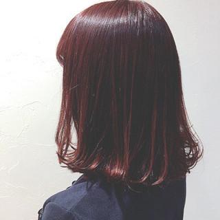 ウェットヘア 秋 ストリート 艶髪 ヘアスタイルや髪型の写真・画像