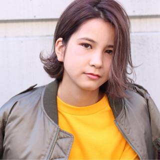 ストリート 外国人風 暗髪 グラデーションカラー ヘアスタイルや髪型の写真・画像