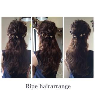 大人かわいい 結婚式 ロング コンサバ ヘアスタイルや髪型の写真・画像 ヘアスタイルや髪型の写真・画像
