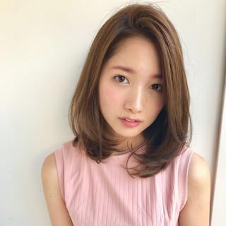 秋 透明感 女子会 デート ヘアスタイルや髪型の写真・画像