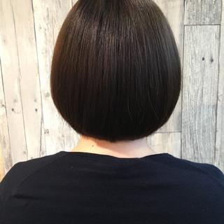 グレージュ ボブ デート 成人式 ヘアスタイルや髪型の写真・画像 ヘアスタイルや髪型の写真・画像