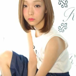 愛され コンサバ 春 夏 ヘアスタイルや髪型の写真・画像