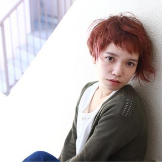 ラフ ストリート フェミニン モード ヘアスタイルや髪型の写真・画像