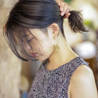 ブリーチカラー ブリーチオンカラー アウトドア ガーリー ヘアスタイルや髪型の写真・画像