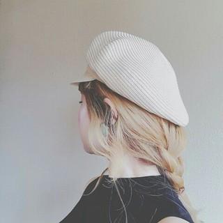 外国人風 デート ロング ヘアアレンジ ヘアスタイルや髪型の写真・画像