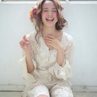 ロング 大人かわいい 外国人風 モテ髪 ヘアスタイルや髪型の写真・画像