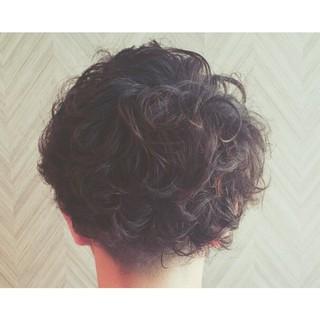 メンズ ストリート ショート 暗髪 ヘアスタイルや髪型の写真・画像