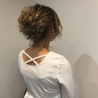 成人式 フェミニン アップスタイル ロング ヘアスタイルや髪型の写真・画像