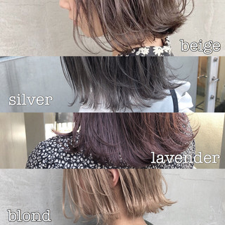グレージュ ナチュラル 簡単ヘアアレンジ ヘアアレンジ ヘアスタイルや髪型の写真・画像