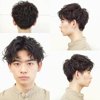 ツーブロック ショート メンズヘア 刈り上げ ヘアスタイルや髪型の写真・画像