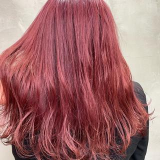 グレージュ ラベンダーピンク フェミニン デート ヘアスタイルや髪型の写真・画像
