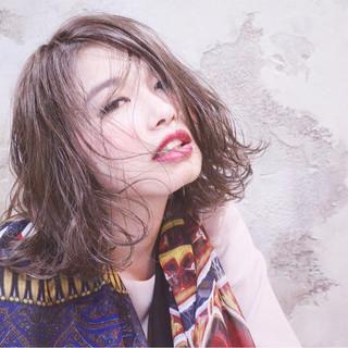 大人かわいい 外国人風 グラデーションカラー ストリート ヘアスタイルや髪型の写真・画像