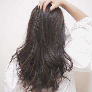 デート 愛され フェミニン ハイライト ヘアスタイルや髪型の写真・画像