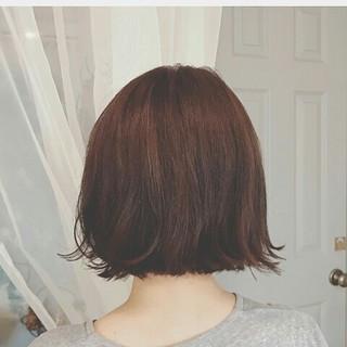 外ハネ ボブ デート ナチュラル ヘアスタイルや髪型の写真・画像 ヘアスタイルや髪型の写真・画像