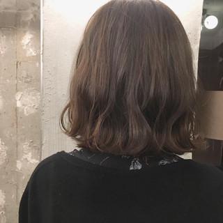 女子会 秋 ボブ ナチュラル ヘアスタイルや髪型の写真・画像
