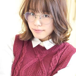 フェミニン 透明感カラー 大人かわいい ひし形シルエット ヘアスタイルや髪型の写真・画像