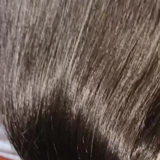 透明感カラー oggiotto ナチュラル ツヤ髪 ヘアスタイルや髪型の写真・画像