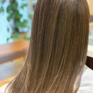 ハイライト コントラストハイライト コンサバ 白髪染め ヘアスタイルや髪型の写真・画像