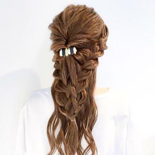 ロング 上品 デート ヘアアレンジ ヘアスタイルや髪型の写真・画像