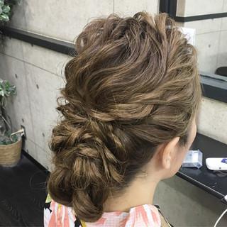 ロング ヘアアレンジ エレガント 着物 ヘアスタイルや髪型の写真・画像 ヘアスタイルや髪型の写真・画像
