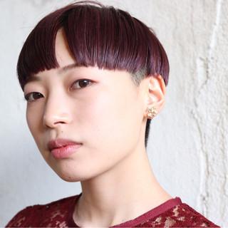 ベリーショート ショート モード 刈り上げ ヘアスタイルや髪型の写真・画像 ヘアスタイルや髪型の写真・画像