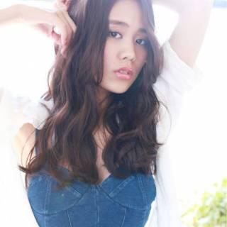 大人かわいい モテ髪 外国人風カラー 秋 ヘアスタイルや髪型の写真・画像